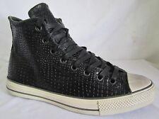 Converse John  Varvatos  156727C Ctas  Hi Black Men Walking Shoes 9.5