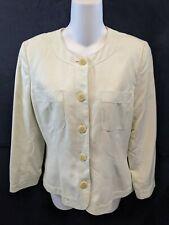 JAEGER Women's Skirt Suit,Blazer Jacket Size S lite green