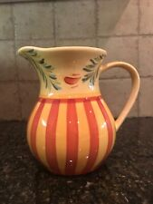 Gail Pittman Southern Living At Home Pitcher Sienna Hand Painted