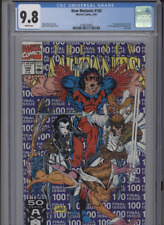 NEW MUTANTS #100 MT 9.8 CGC WHITE PAGES LIEFELD COVER ART 1ST APP. OF X FORCE