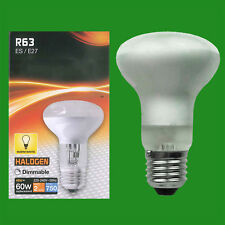 50x 48W (=60W) Halogène R63 à variation perle spot réflecteur lampe Es E27