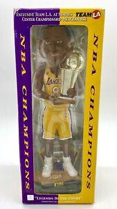 Kobe Bryant 2002 NBA Finals Championship Bobblehead Lakers TEAM LA exclusive