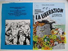 LE RALLIC PREMIER TIRAGE COUVERTURE LA LIBERATION BERNARD CHAMBLET PIECE UNIQUE