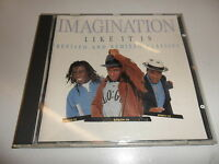 CD  Imagination - Like it is-Revised and remixed classics
