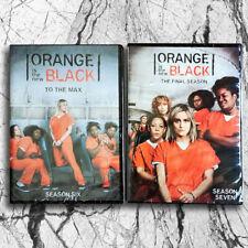Orange Is the New Black Season 6 & Season 7 (DVD,8 DISC,Region 1) Fast shipping
