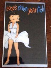 """Betty Boop Sticker 3""""x4 3/4"""""""