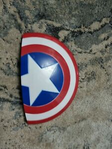 Marvel Captain America Shield 3D Wall Night Light Bedroom Lamp