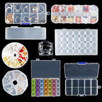 3D Nail Decoration Storage Box Nail Art Accessories Container Crystal Case Tool