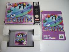 Wetrix Nintendo 64 N64 Game Complete Tested PAL UK