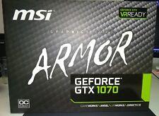 Tarjeta Grafica VGA MSI GTX 1070 ARMOR  8GB OC GDDR5
