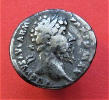 Authentic Ancient Roman Limes Coin denarius Lucius Verus 164Ad
