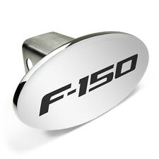 Ford F-150 Metal Chrome Trailer Tow Hitch Cover with Locking Pin