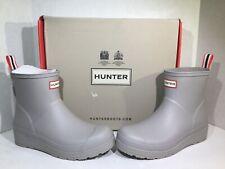 Hunter Womens Size 8 Original Play Boot Short Zinc Rubber Rain Boots ZD-438