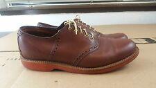 Used Cole Haan 60142J Men's Brown Size 8 D/B Leather Shoes Oxford Made In USA