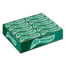 Wrigleys Airwaves Green Mint Zuckerfreie Kaugummi Dragees Menthol Pfefferminz