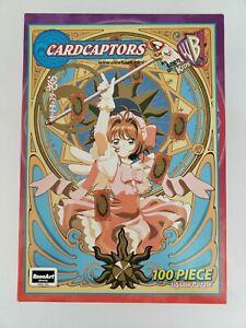 Vintage 100 Piece RoseArt Jigsaw Puzzle Anime Cardcaptors - Sakura - Unopened