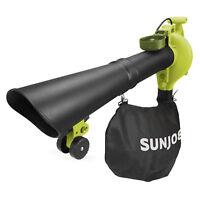 Sun Joe 4-in-1 Electric Leaf Blower   Certified Refurbished   90 Day Warranty