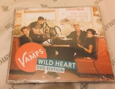 THE VAMPS WILD HEART DVD EDITION SIGNED BY CONNOR BALL VERY RARE
