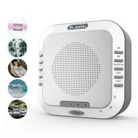 Silver Noise Machine Therapy Sleep Relaxation Night Sleeping Aid 5 Relax Sounds