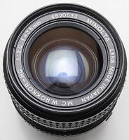 Minolta MC W.Rokkor-HG W.Rokkor HG 1:2.8 2.8 35mm 35 mm