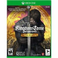 Kingdom Come Deliverance Royal Edition (Microsoft Xbox One) Brand New Sealed