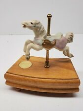 1989 Tobin Fraley The American Carousel Collection 3rd Edition #9505 Music Box
