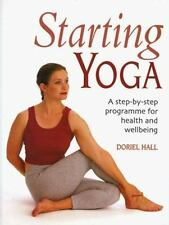 Starting Yoga: A Step-by-Step Program for Health and Well-being-ExLibrary