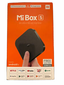 Xiaomi Mi Box S 4K UHD Streaming Media Player Android TV Official UK Version