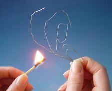 Formgedächtnis Büroklammer - Paperclip Nitinol Shape Memory Metall Zaubertrick