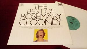 ROSEMARY CLOONEY - THE BEST OF - UK MONO LP IN LAMINATED SLEEVE