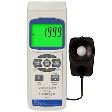 Sper Scientific 850007 Datalogging Light Lux Meter & type K or J Thermometer