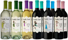Middle Sister Mixed Red and White Wine Pack 12 Bottles