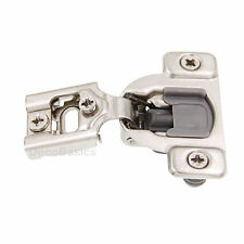 """50 Pack (25 Pairs) 1/2"""" OVERLAY SOFT CLOSE Face Frame Compact Cabinet Hinge"""