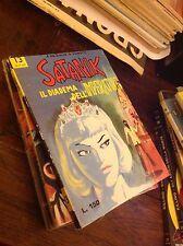 SATANIK N°13 1965 FUMETTO NOIR ORIGINALE VINTAGE OTTIME CONDIZIONI ED.CORNO