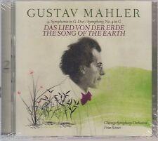 Mahler: Symphonie Nº 4/la chanson de la terre-Fritz pur (2 CD, NOUVEAU! neuf dans sa boîte)