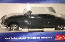 1/18 SunStar 4743 Citroen DS19 Cabriolet Summer Grey