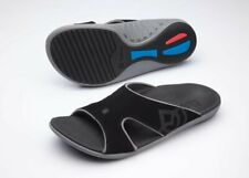 Spenco Kholo Men's Orthotic Slide Sandals Carbon / Pewter - 10 Wide