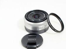 Sony Alpha E mount SEL-16F28 16mm F/2.8 Lens Nex-5R A5100 A6000 A6200 A6300