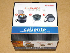 IBM / PICNIC TIME CALIENTE ALL IN ONE COOLER / BBQ GRILL / TOTE - New In Box