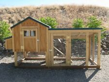 Chicken coop plan & material list, 4 X 4 Kennel Coop, emailed version only