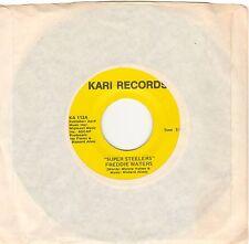 45 rpm - FREDDIE WATERS - SUPER (Pittsburgh) STEELERS - Kari #113 PROMO - NM