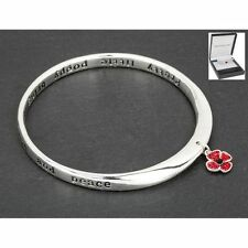 Alloy Silver Plated Flowers & Plants Costume Bracelets