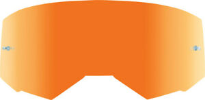 Fly Racing Zone/Focus Goggle Lens | Orange Mirror (with Tear-Off Posts)