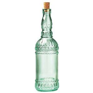 Bormioli Rocco Country Home Italian Assisi Style 24 Oz. Glass Bottle Oil Storage