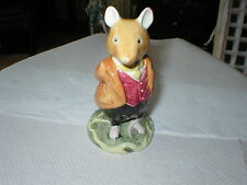 ROYAL DOULTON BRAMBLY HEDGE FIGURE LORD WOODMOUSE D.B.H.4 BY JILL BARKLEM 1982