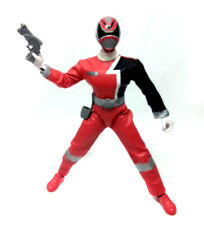 "12"" SPD espacio patrulla Red Power Rangers Figura Con Sonido FX"
