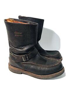 "Chippewa Men's Upland Back Zip 10"" Mocc Toe Boots Size 8.5 M #24948"