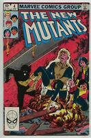 New Mutants 4 1st Series Marvel 1983 NM Bob McLeod Chris Claremont