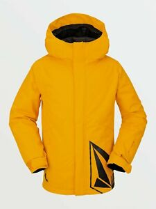 2021 NWT BOYS VOLCOM 17FORTY INSULATED JACKET $145 M Resin Gold standard fit