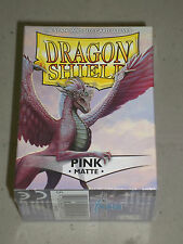 PINK Matte Dragon Shield!! 100 Standard Size Protector Sleeves!! New + Sealed!